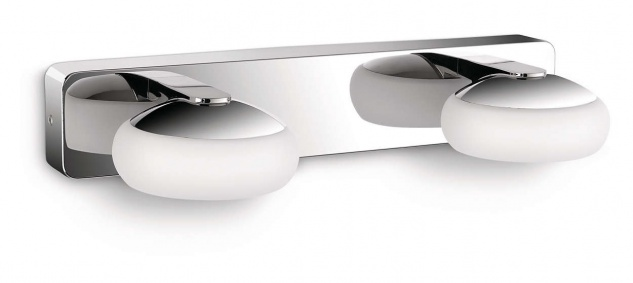 Philips LED Badezimmerlampe Silk 4x 2, 5W 730lm Wandleuchte Spiegellicht Chrom