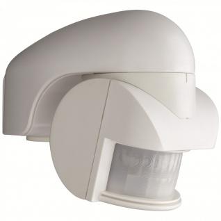 IR Bewegungsmelder Sensor 140° Weiss IP44