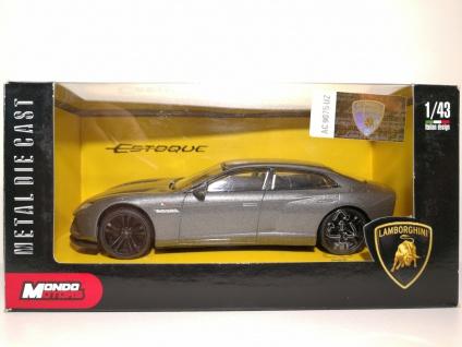 1:43 Lamborghini Estoque silbern - Mondo Motors