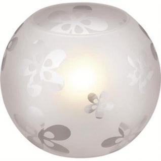 Tischleuchte Chesty Modern Glas Tischlampe Glasleuchte Tisch 43222-56-16