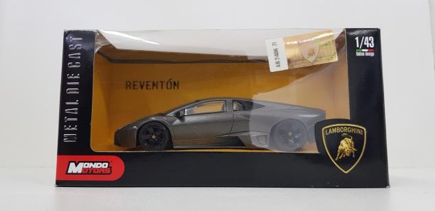 1:43 Lamborghini Reventon Grau - Mondo Motors Modellauto