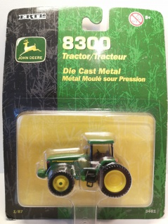 Ertl Collectibles 8300 John Deere Metall Traktor 1:87 HO Maßstab