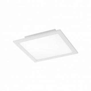 LED Panel Deckenleuchte Silber 2000lm Fernbedienung Farbwechsel Dimmbar Ultraflach