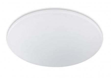 LED Deckenleuchte Weiss Acrylglas 5500 Lumen Dimmbar Ø 75cm
