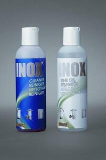 Edelstahlreiniger Rostentferner Pflegeöl Zubehör INOX Cleaning Set 68941-00-10