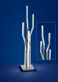 Deutsche LED Tischleuchte Chrom Tastdimmer 2700 Lumen Höhe 62cm