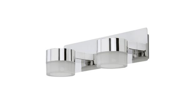 LED Badleuchte Wandleuchte Chrom 800 Lumen Spiegelleuchte Badezimmerlampe
