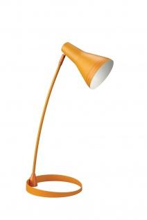 Energiespar Tischleuchte Scott Modern Bürotischleuchte Leuchte orange