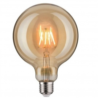Paulmann LED Lampe Filament Dekorativ Glühbirne Globe E27 Leuchtmittel 2, 5W