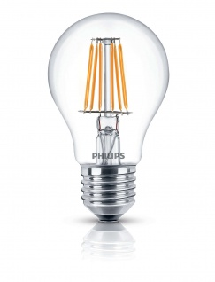 Dekorative Philips LED Lampe Glühbirne Leuchtmittel Deco Classic Klar E27 Leuchte 7, 5W