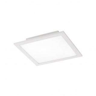 LED Panel Deckenleuchte 20W Silber 2000lm Fernbedienung Farbwechsel Dimmbar