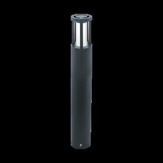 Eglo LED Wegeleuchte IP44 Anthrazit Höhe 1m Außenleuchte IP44 Aluminium