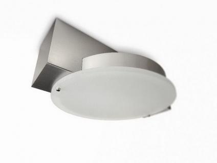 Deckenleuchte Energiesparleuchte Save3 Modern 2-flg. Gitta Metall Glas Lampe