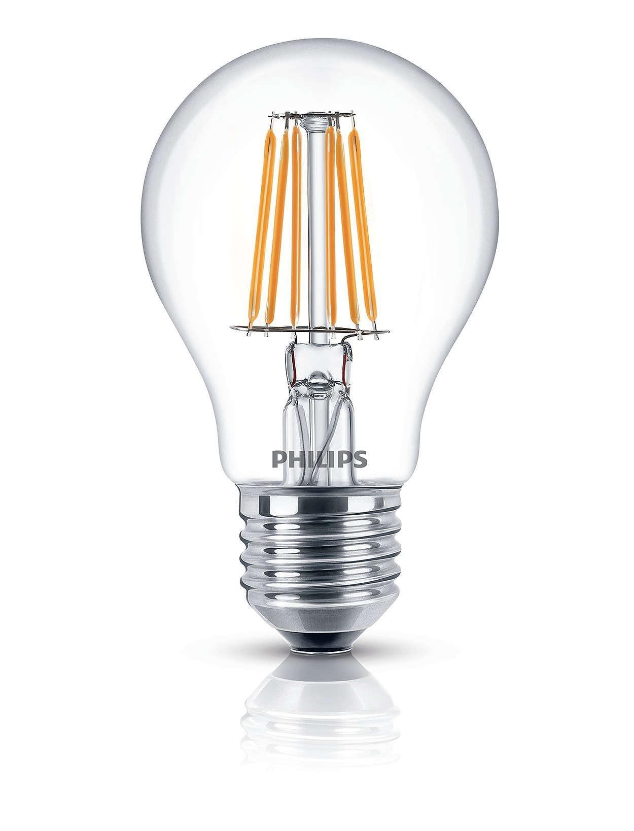 Einfache Dekoration Und Mobel Sceneswitch Von Philips #20: Dekorative Philips LED Lampe Glühbirne Leuchtmittel Deco Classic Klar E27  Leuchte 4, ...