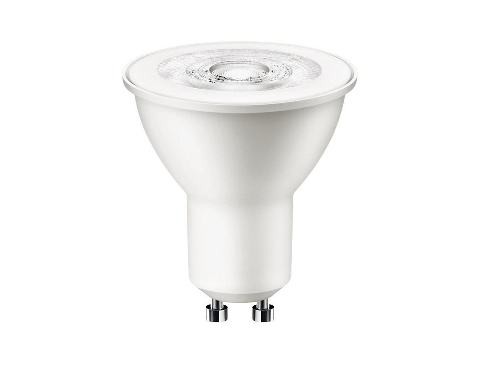 Attralux led leuchtmittel gu reflektor w warmweiß lampe