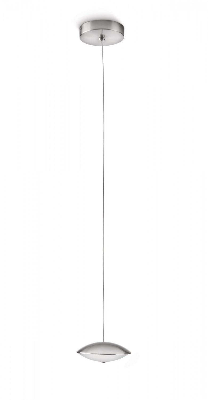 philips led pendelleuchte tarn matt chrom pendel leuchte design 40960 17 16 kaufen bei. Black Bedroom Furniture Sets. Home Design Ideas
