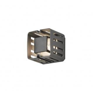 Konstsmide LED Wandaussenleuchte Anthrazit IP54 Aussenleuchte Aluminium