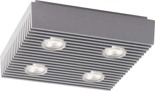 Philips Ledino Power LED Deckenleuchte Modern Design Grau
