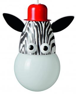 Kinderzimmerlampe Kiko Zebra Pendelleuchte Energiespar Pendel