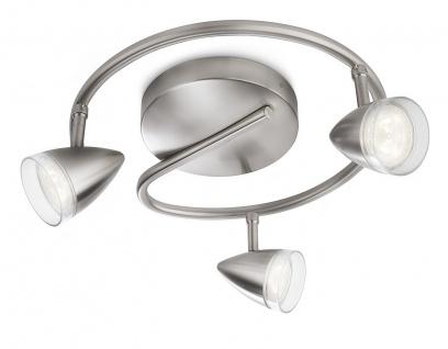 Philips myLiving Maple Spot Deckenleuchte LED Leuchte Spotrondell 53219-17-16