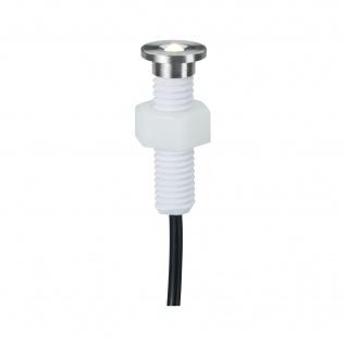 5er Set Bodeneinbauleuchten Edelstahl IP67 LED Rund Ergänzungsset 130kg belastbar