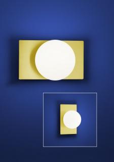 Deutsche LED Wandleuchte Messing 900 Lumen 9 Watt Ein-Ausschalter