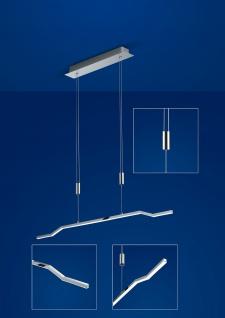 Deutsche LED Pendelleuchte Höhenverstellbar Chrom Dimmbar 1800 Lumen