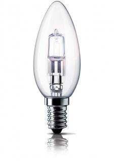 Philips Eco Halogen Classic Kerzenlampe 28W Kerze Leuchtmittel Glühbirne E14