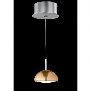 Kleine LED Pendelleuchte Chrom Silberfarbig Reflektor 4, 6W 475lm 3100K Ø10cm