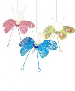 Kinderzimmer Pendelleuchte Schmetterling Kinderzimmerleuchte Mehrfarbig
