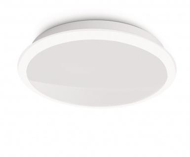 Philips LED Deckenleuchte Denim Modern Deckenlampe Weiß