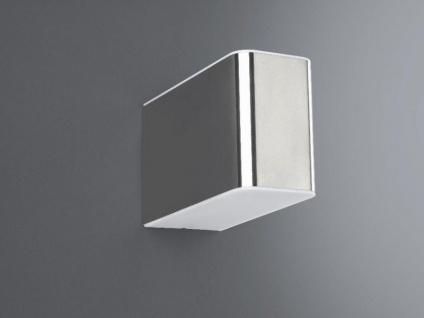 Wandaussenleuchte Silber Aussenlampe Up & Down Edelstahl inkl. Leuchtmittel
