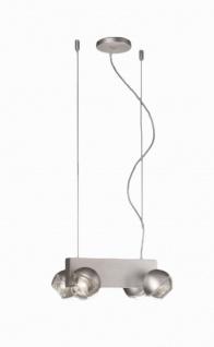 TopSelection Halogen 4er Spotpendel Perla Pendel Modern