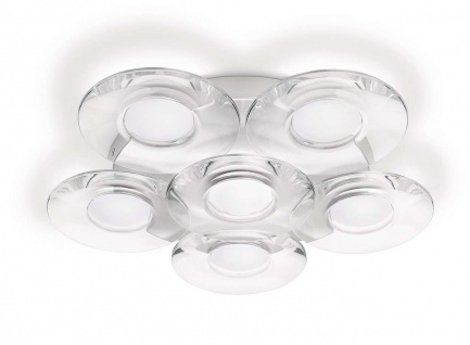 Philips myLiving LED Deckenleuchte Vaga Leuchte Design 40970-48-16