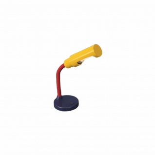 Massive Schreibtischlampe Noah EEK B Kinderlampe Bunt Metall Gelb Rot Blau