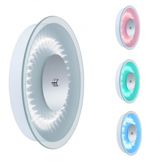 LED Wandleuchte Dimmbar Farbwechsel Fernbedienung Glaß 16W/230V Ø28cm RGB
