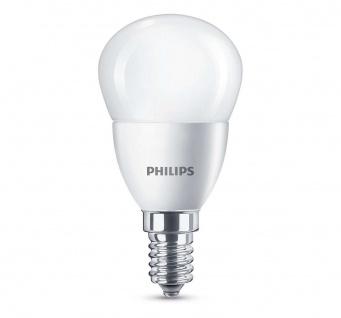 Philips LED Leuchtmittel E14 Tropfenform 5, 5W Lampe Glühbirne Kugelbirne
