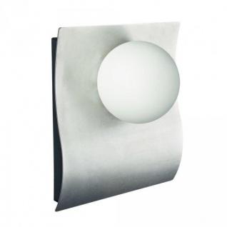 Philips Ledino Wandaussenleuchte LED Power 6W 380lm Glas Edelstahl