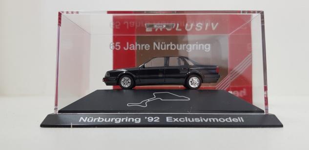 Herpa Audi V8 Schwarz 65 Jahre Nürnburgring M1:87 Geschenkbox Exklusivmodell