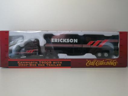 Ertl 4518 Kenworth T600B Truck & Erickson Trailer 1:87 HO Zug