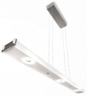 Philips Ledino Pendelleuchte LED Alu Glas Lichtfarbe einstellbar Dimmbar