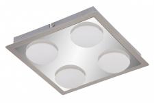 LED Badleuchte Deckenleuchte Chrom Matt Nickel 4 Flammig Badezimmerlampe