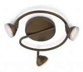 Philips LED Spot Bronze Toscane Spotspirale Deckenleuchte Leuchte 53249-06-16