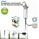 Philips Energiespar-Gartenspieß , aussen, 01767/87/16