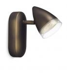 Philips myLiving Spot LED Maple Bronze Schwenkbar Leuchte Wandleuchte 53210-06-16