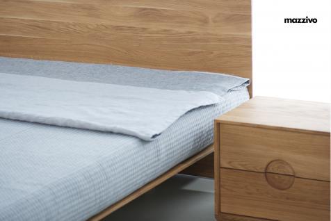 Mazzivo ® OUTLET SALE -35% Designerbett Schwebebett Massivholz NOBBY Erle 200/220 Überlänge - Vorschau 3