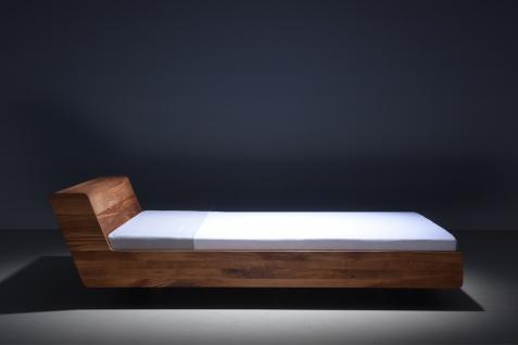 MAZZIVO Designerbett LUGO Eiche Sale Bett 180x200cm Massivholz UVP 2009,- Holzbett