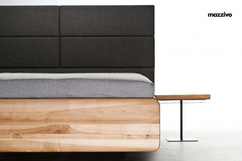 Mazzivo ® OUTLET SALE -35% Designerbett Polsterkopfteil Massivholz BOXSPRING Erle 200/210 Überlänge - Vorschau 2