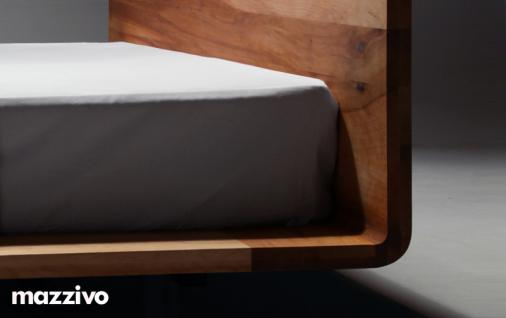 Mazzivo ® OUTLET SALE -35% Designerbett Schwebebett Massivholz MOOD Erle 140/200 - Vorschau 4