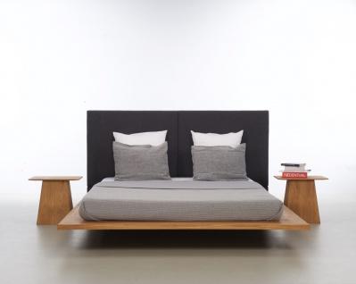 Mazzivo ® OUTLET SALE -35% Designerbett Schwebebett Massivholz MOOD 2.0 Erle 160/200 - Vorschau 3